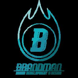Brandman logo kleur